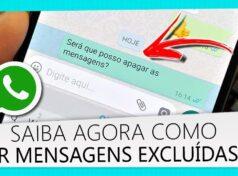 Recuperar mensagens apagadas do WhatsApp Aprenda como