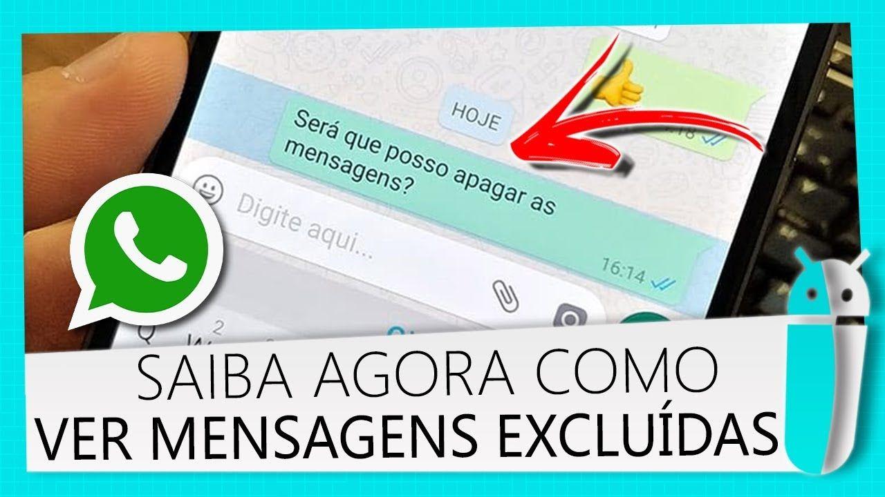 recuperar mensagens apagadas do WhatsApp