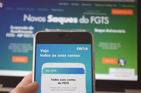 Aplicativo de Saque do FGTS